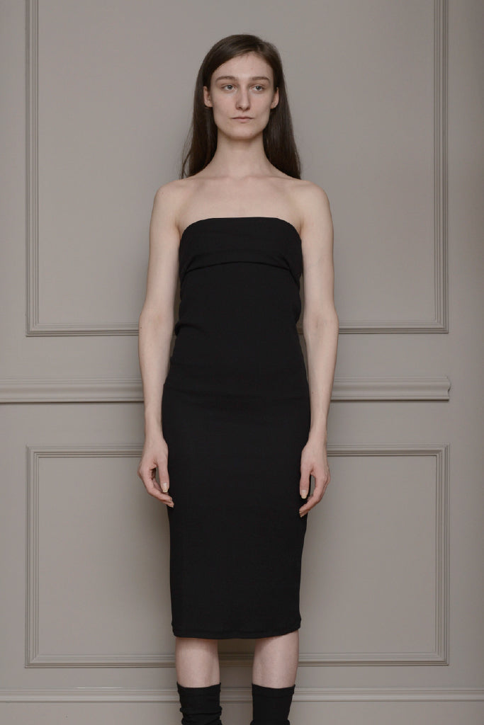 By Signe - Fold Dress Black