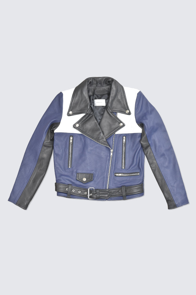 Hosbjerg - Cain Jacket Blue White Black