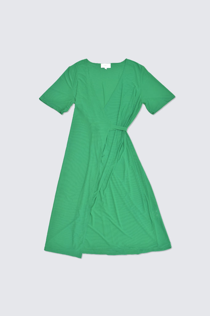 Hosbjerg - Izzy Wrap dress Green