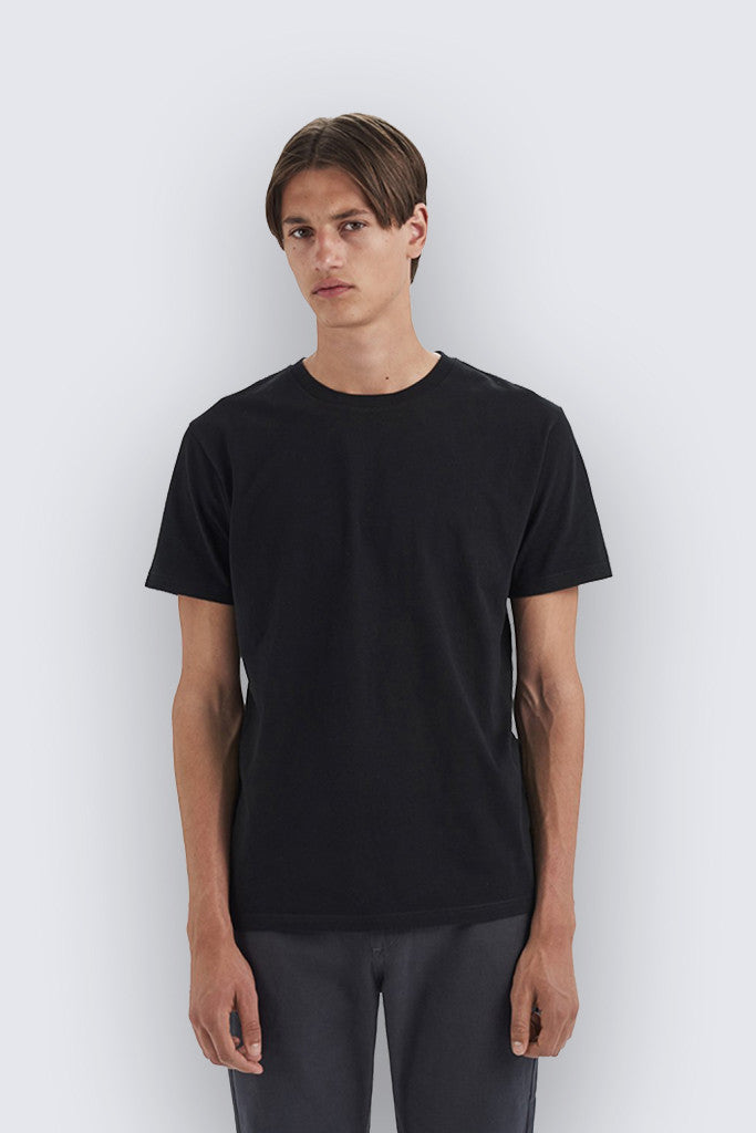 Wood Wood - Basic T-shirt Black