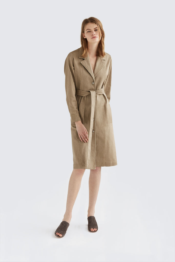 Dress Up - Jean Trench Natural