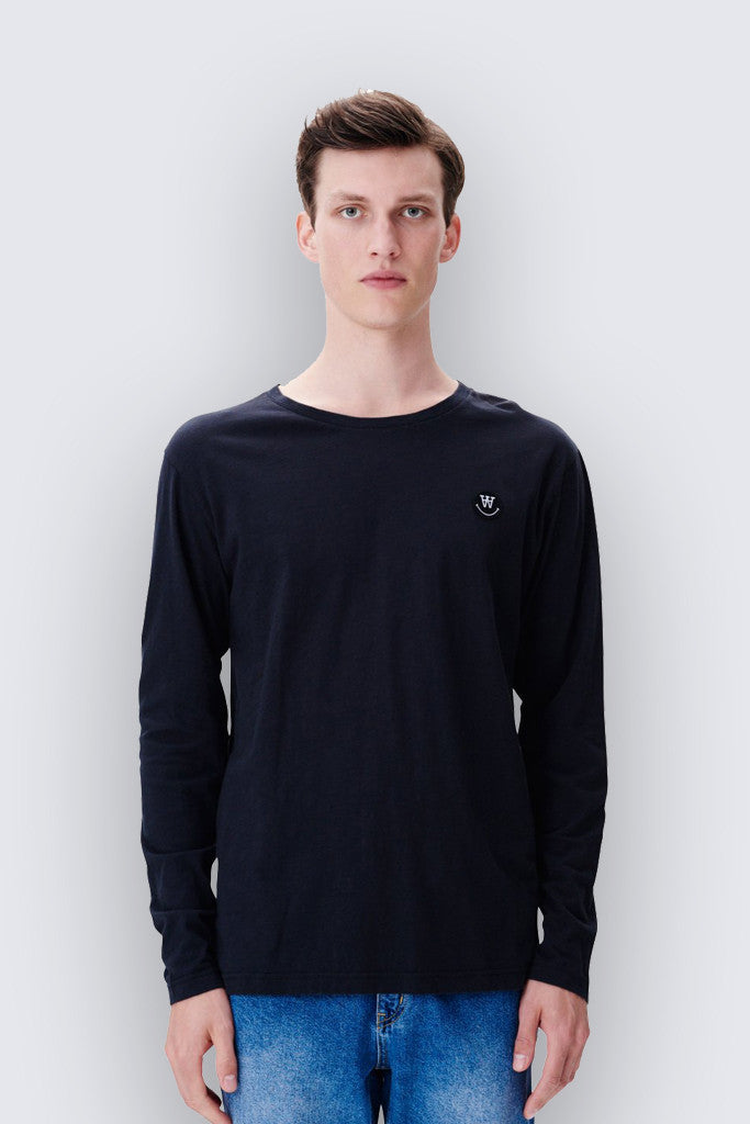 Wood Wood - Peter LS Top Black