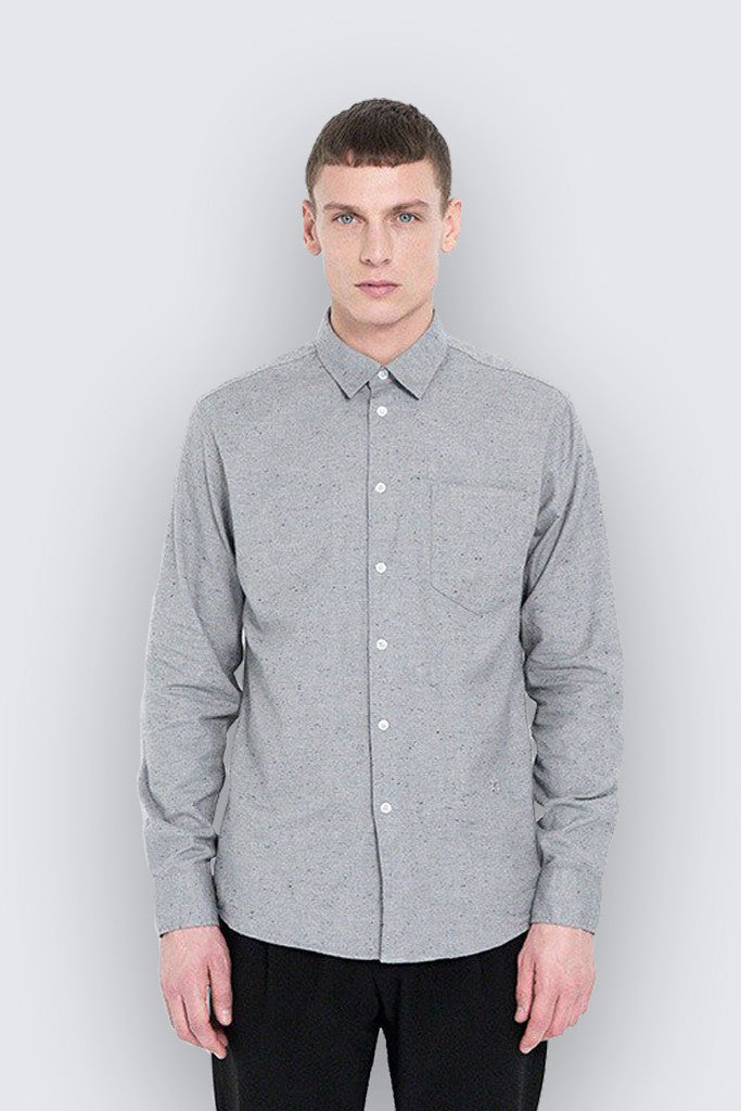 Soulland - Huttnutt Shirt Grey