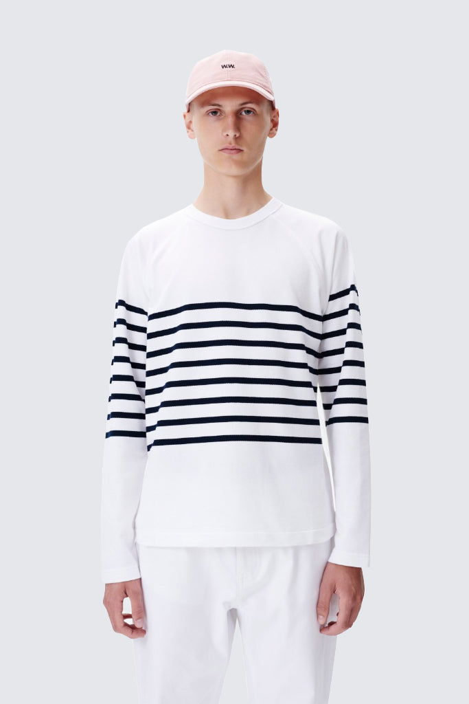 Wood Wood - Tyrone L/S Top Bright White