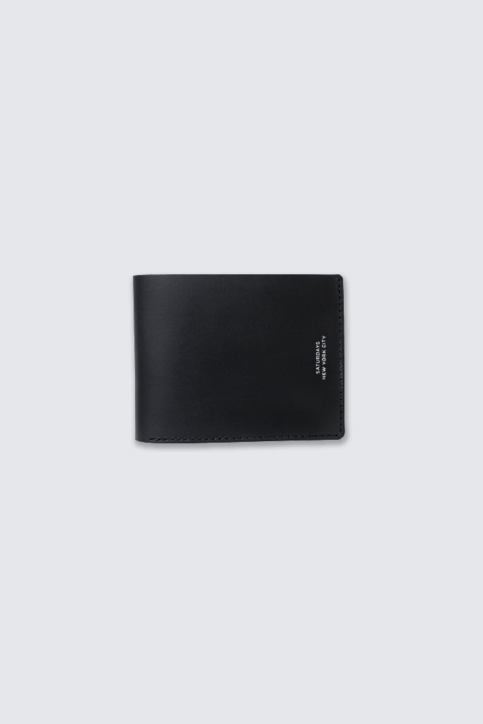 Saturdays NYC - Bi Fold Wallet Black