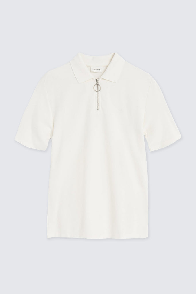 Wood Wood - Bower Polo Off White