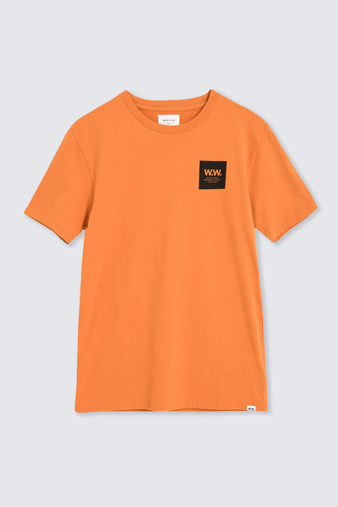 Wood Wood - Box T-shirt Dark Orange