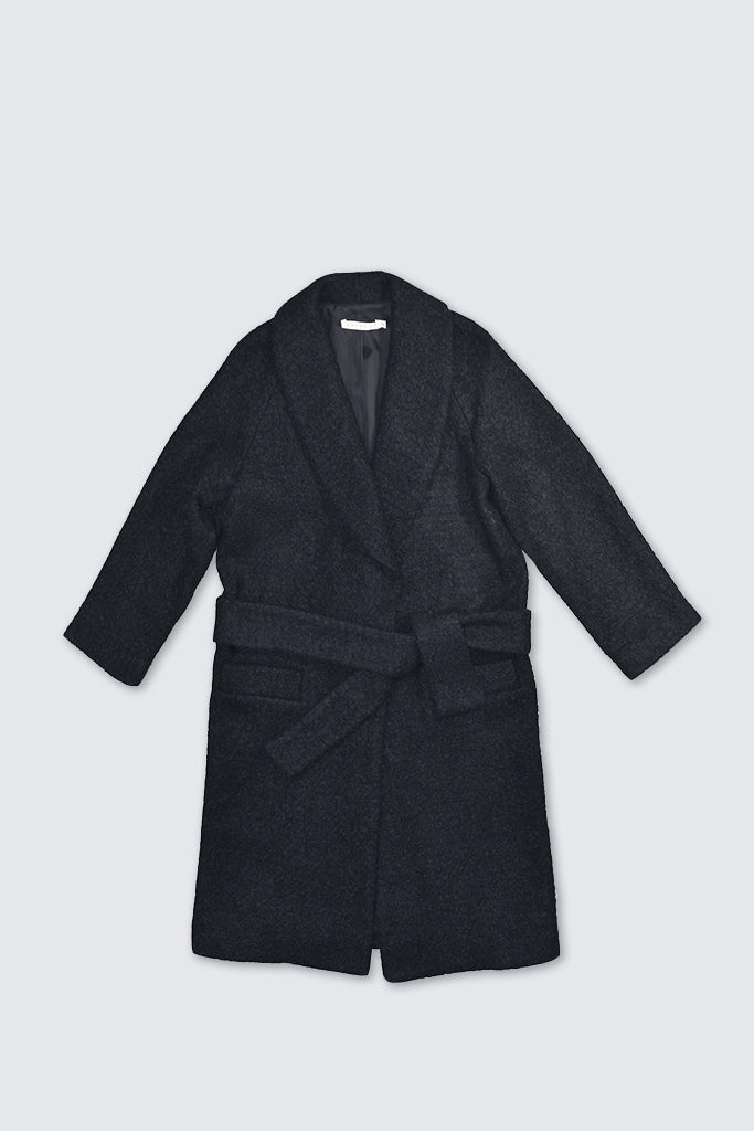 Dress Up - Shawl Coat Black