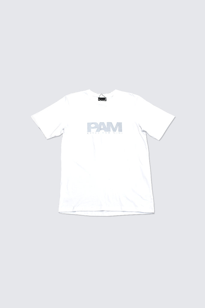 Perks and Mini -New PAM Logo S/S Tshirt White