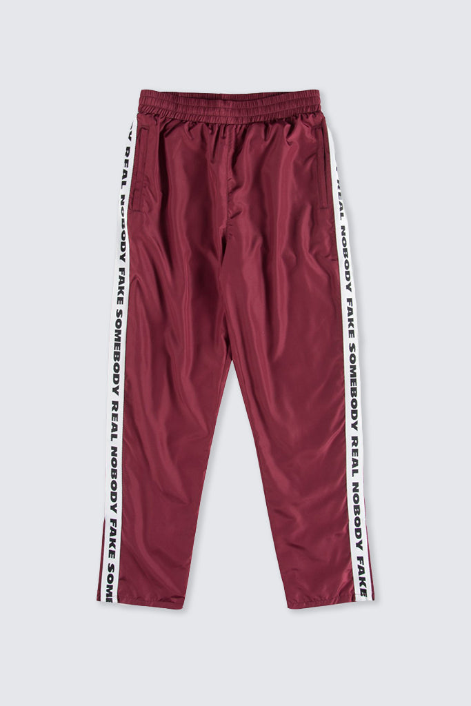 Wood Wood - Robby Trousers Dark Red