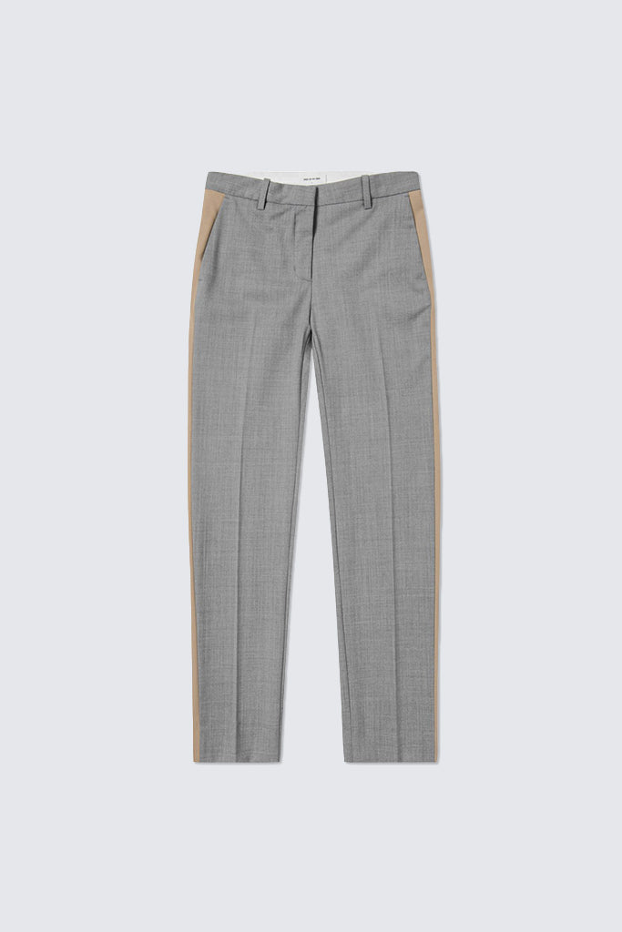 Wood Wood - Rubis Trousers Light Grey Melange