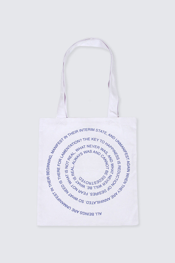 Perks and Mini - Ruins Tote Bag White