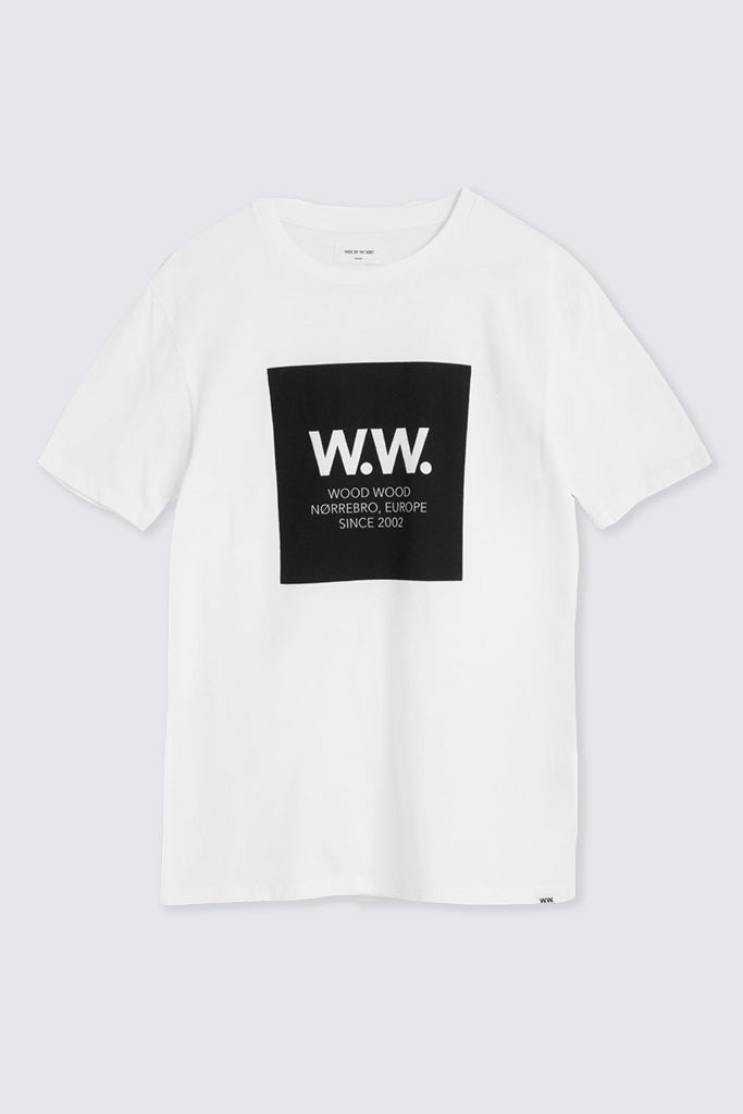 Wood Wood - Square T-shirt White