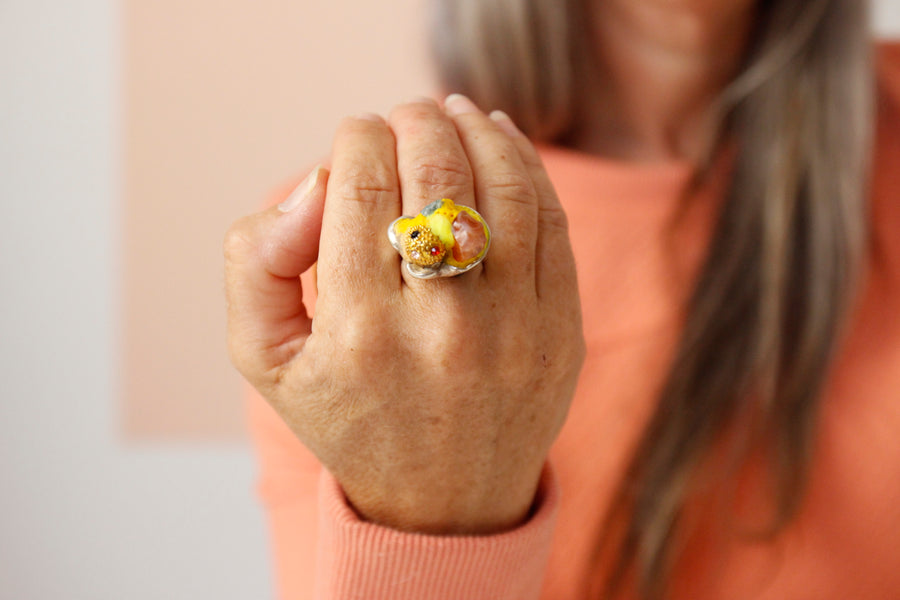 Pomelo powerball ring