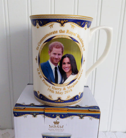 Prince Harry And Meghan Markle Royal Wedding Mug English ...