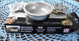 Kingsway Tea Room Tea Strainer Teapot Handles Over The Cup Strainer With Drip Cup