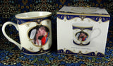 Wedding Kiss Mug Will And Kate English Boxed Bone China England - Antiques And Teacups - 4