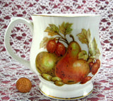 Fall Fruit And Nuts English Mug Bone China Mayfair England - Antiques And Teacups - 2