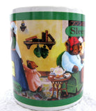 Mug Sleepytime Tea Celestial Seasonings Ceramic Bears Advertising 1993 - Antiques And Teacups - 2