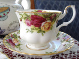 Royal Albert Old Country Roses Cup and Saucer Newer Production - Antiques And Teacups - 1