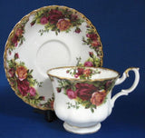 Royal Albert Old Country Roses Cup and Saucer Newer Production - Antiques And Teacups - 2