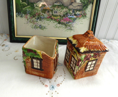 Cottage Ware Cream And Sugar Price Brothers Vintage 1950s