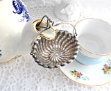 Antique 1887 Sterling Silver Teapot Spout Tea Strainer Basket Whiting USA Tea Leaf Catcher