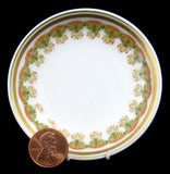 Haviland Limoges Butter Pat Stylized Antique French 1890s Gorgeous Delicate