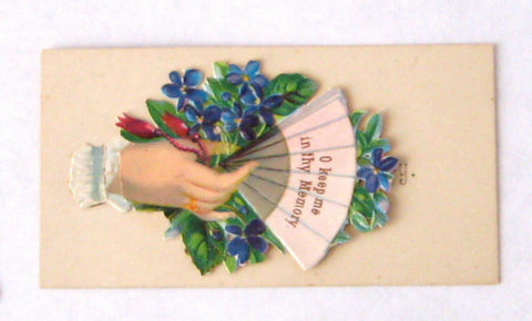 Victorian greeting cards die cut 4 cards hidden message figural i am victorian greeting cards die cut 4 cards hidden message figural i am your captive christmas m4hsunfo
