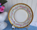 Gorgeous Haviland Limoges Side Plate Ornate Floral Gold Roses Antique 1900-1910
