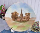 Cake Plate Shakespeare Burial Holy Trinity Church Stratford 1904-1906 Edwardian