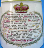 Royal Winton Mug King George V And Mary Coronation 1911 Tankard Ironstone