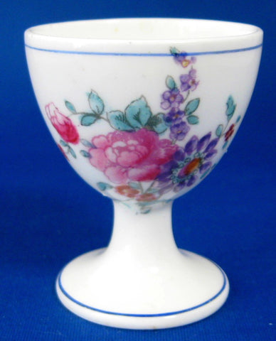 Egg Cup Floral George Jones Crescent Old English Eggcup 1920s