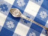 Sterling Silver Spoon 1920s Hoquiam Washington Matthews NY Souvenir George Washington