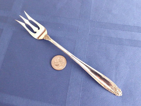 Sterling Silver Prelude Oyster Lobster Fork International 1930s No Monograms