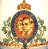 Coronation Mug King George VI and Elizabeth Booths 1937