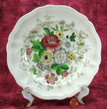 Royal Doulton Malvern Salad Plate Hand Colored On Transfer Bouquet
