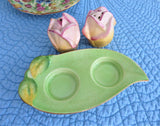 Royal Winton Grimwades Rosebud Salt Pepper And Tray Relief Molded Ware 1942-1950s
