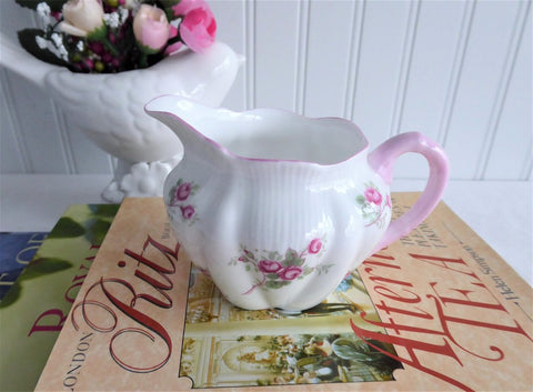 Shelley Creamer Bridal Rose Dainty Milk Cream England Rose Spray