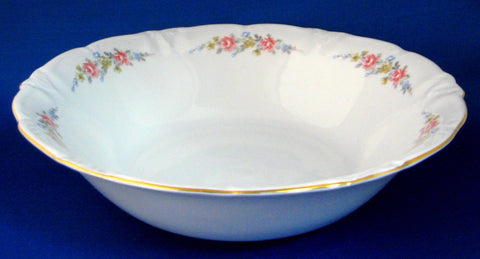 Vegetable Bowl Winterling Mayerling 1940s Vintage Floral Dinner Party Serving Bowl