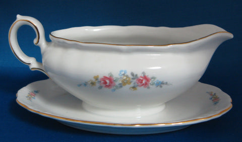 Gravy Boat With Plate Winterling Bavaria Mayerling Vintage Mint 1940s