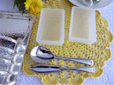 Toast Rack Breakfast Set 1940s Silver Plated English Attached Tray Dishes Spoon Spreader