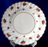 Royal Doulton Rosebud 6.25 Inch Bread And Butter Plate Rosebuds 1940s Tea Plate