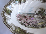 Friendly Village Oval Vegetable Bowl Johnson Brothers 1950s Village Green