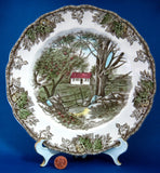 Johnson Brothers Friendly Village Luncheon Plate Sugar Maples English Made 1950-1960s