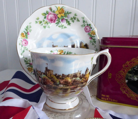 Windsor Castle Cup And Saucer Royal Albert Traditional Songs Series Land Of Hope Glory