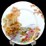 Shelley Heather Plate 7 Inch Gainsborough England Cake Plate 1950s Tea Plate