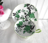 Shelley England Ovington Peony Cup and Saucer Gainsborough 1950s