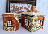 Cottage Ware Cream And Sugar Price Kensington Vintage 1940-1950s