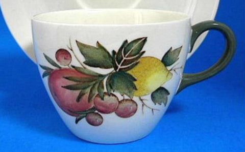 Wedgwood Covent Garden Cup Only Fruit Vintage 1940s Creamware